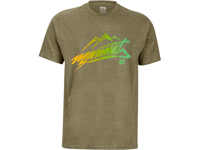 Marmot Rad Camiseta Manga Corta Hombre, olive heather
